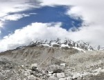 PHOTO: A shot of an Everest Base Camp from Google Maps.