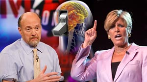 Photo: Expert Advice Shuts Your Brain Down: Jim Cramer, Suze Orman