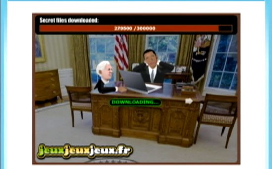 Video: New Wikileaks computer game.