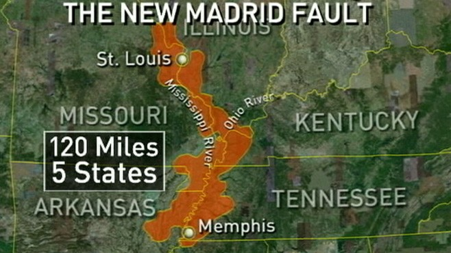 Earthquake Strikes Virginia Dangerous US Fault Lines ABC News - Fault line map us