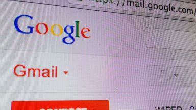 PHOTO: A Gmail inbox is seen in this undated photo.