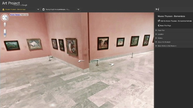 VIDEO: Google Art Project gives virtual tour of 17 top art museums.