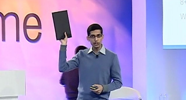 Video: Google shows off its new notebook.