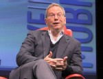 PHOTO: Googles Eric Schmidt speaks at The All Things D: Dive into Mobile conference.