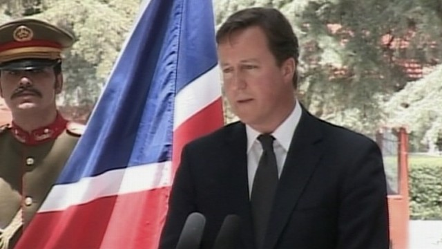 VIDEO: David Cameron on claim that News of the World hacked into slain girl's phone.