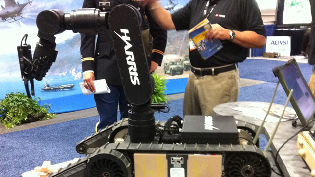 PHOTO: Harris Wireless Haptic Manipulator System