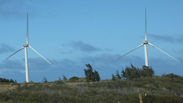 PHOTO: Kahuku Wind Farm, Oahu, Hawaii, 2012
