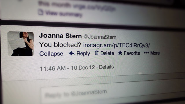 PHOTO: On Dec. 9, 2012 Instagram blocked photo embedding on Twitter.