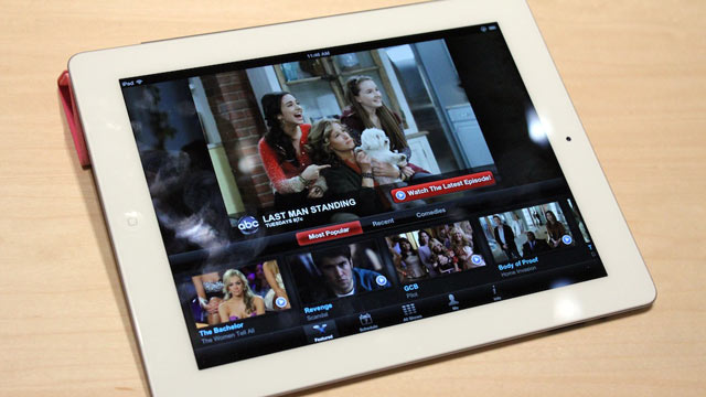 PHOTO: Apple unveiled the new iPad 3 at an event in San Francisco, Ca, March 7, 2012.