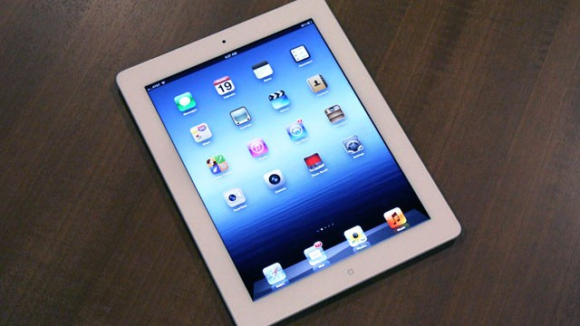 PHOTO: The new iPad is now the best tablet on the market.