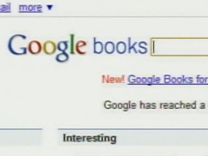 VIDEO: Justice Department examines Google Books buisiness venture.