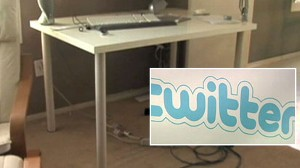 Video:  Man believes his tweet caused his home break-in.