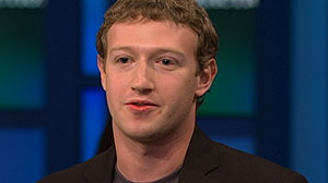 Photo: Facebook CEO Announces $100M Donation to Schools on Oprah Winfrey Show