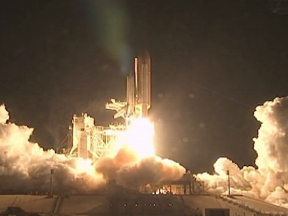 VIDEO: Space shuttle Endeavors liftoff is the last nighttime launch planned by NASA.
