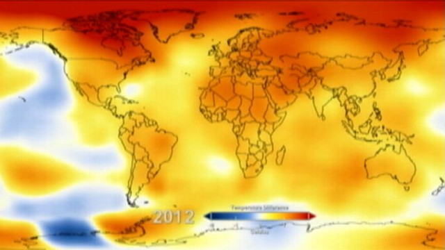 VIDEO: Climate scientists say 2012 was ninth warmest on record.