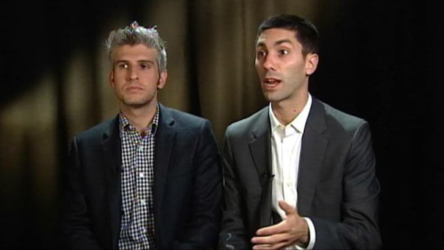 "PHOTO: Nev Schulman and Max Joseph of MTV's ""Catfish"" talk to ABC News about Manti Te'o."
