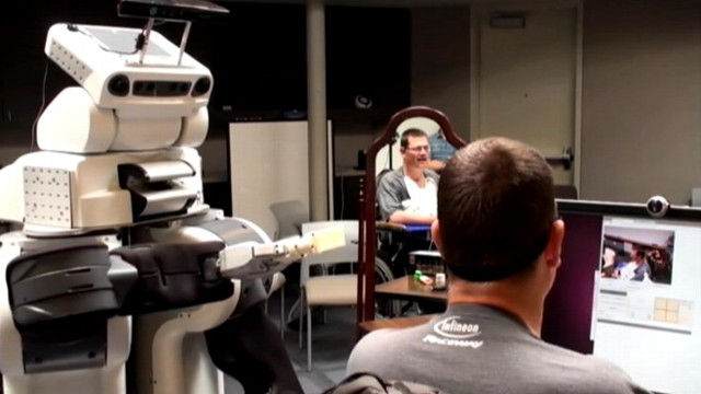 Good Morning America Robot : Robot helps quadriplegic with daily tasks video abc news