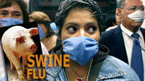 PHOTO The head of the World Health Organization says the swine flu outbreak in Mexico and the United States could develop into a pandemic.