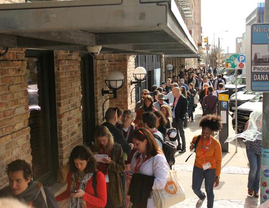 SXSW: Lines, Geeks, and a Grumpy Cat