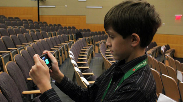 PHOTO: 12-year-old Thomas Suarez is the youngest iPhone app developer.