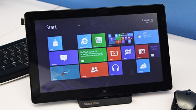 PHOTO: Windows 8 Consumer Preview
