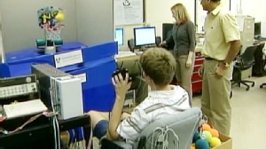 Video: Robot can read emotions and feelings of children with autism.