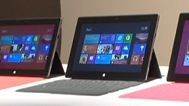 Microsoft Surface Tablet: A First Look
