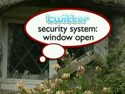 VIDEO: A computer engineer wires his home to Twitter.