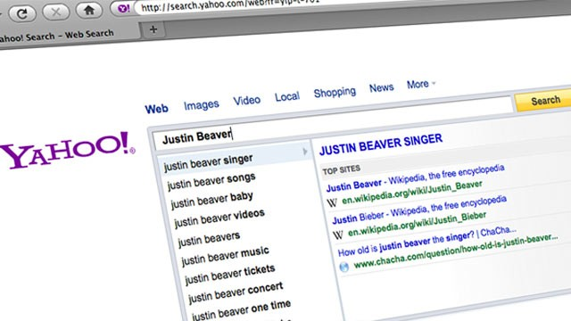 PHOTO: Yahoo releases its list of the top misspelled/misheard searches so far for 2011.