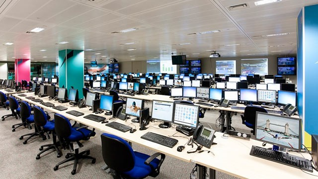 PHOTO: Acer provides all the computers for the Technology Operations Center at the  2012 Summer Olympics.