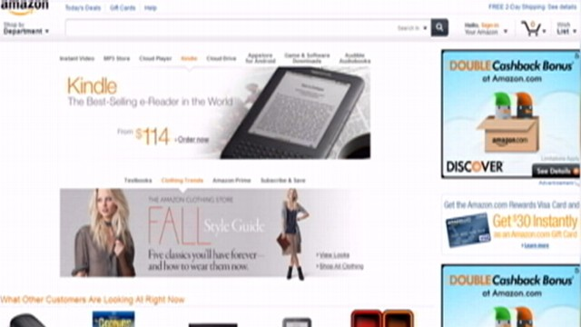 VIDEO: Amazon is negotiating with book publishers to launch service similar to Netflix.