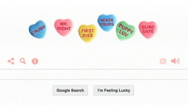 "The search engine collaborates with ""This American Life"" on Valentines Day."