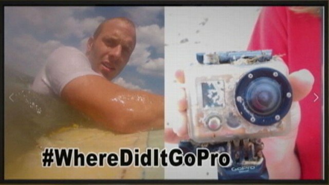 VIDEO: Florida TV news station and online community track down GoPro cameras owner, Andy Walker.