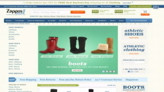 VIDEO: Online shoe store resets passwords for 24 million customer accounts.
