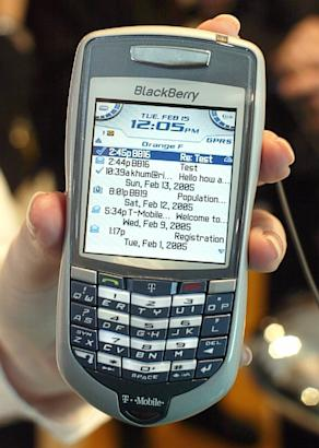 History of the BlackBerry