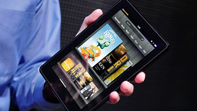 PHOTO: Amazon Kindle Fire tablet computer