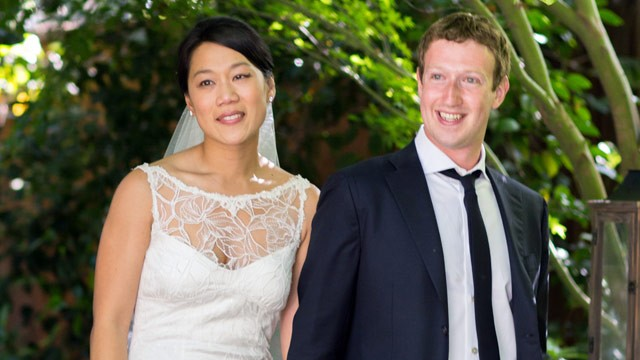 PHOTO: Mark Zuckerberg and Priscilla Chan