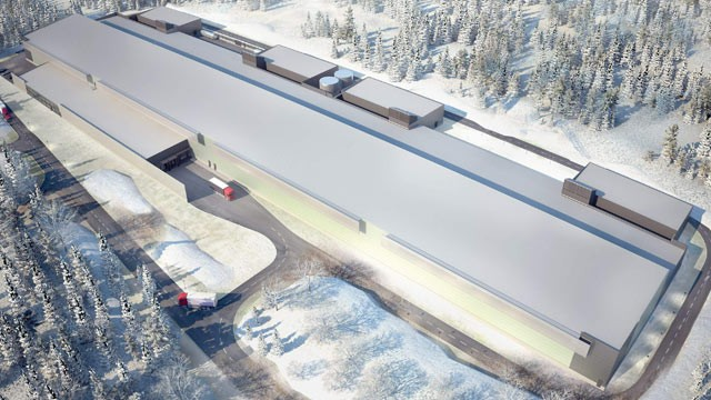 PHOTO: An artist's rendition shows Facebook's new server farm on the edge of the Arctic Circle, Oct. 27, 2011 in Lulea, Sweden.
