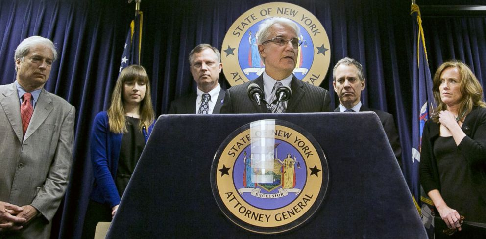 PHOTO: San Francisco District Attorney George Gascon speaks about using technology to avert smartphone theft during a press conference, June 13, 2013, in New York.