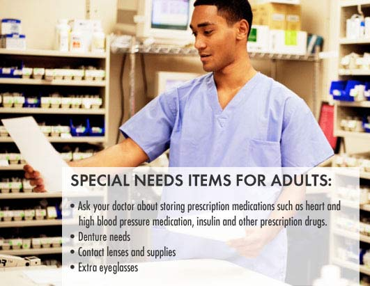Special Needs for Adults