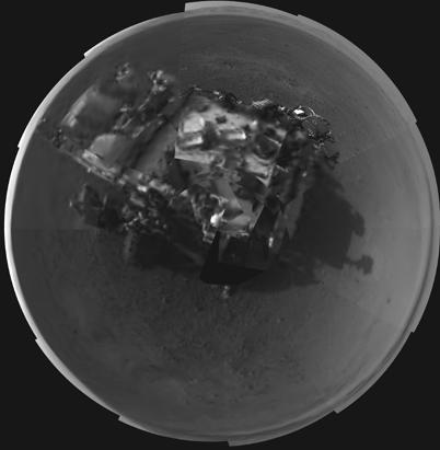 ap mars curiosity dm 120809 ssv Nightline Daily Line, Aug. 9: Curiosity Snaps Color Photo of Mars