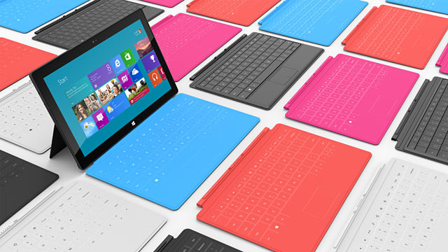 PHOTO: Microsoft Surface tablet
