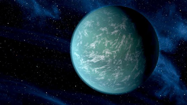 PHOTO: Artists conception of Kepler-22b, a newly-found planet, 600 light years away, in the habitable zone of a sun-like star.