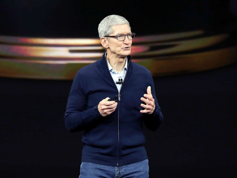Tim Cook says the iPhone X's $999 cost is a