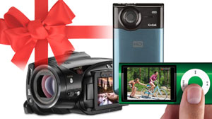 Photo: Give the Gift of Video: Cameras for Every Lifestyle: From the Budding Paparazzo to the Serious Videographer, Four Gift Ideas