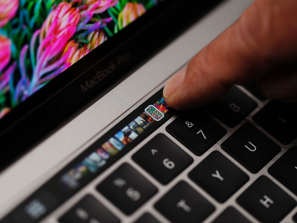 apple unveils new macbook pro with touch bar abc news. Black Bedroom Furniture Sets. Home Design Ideas