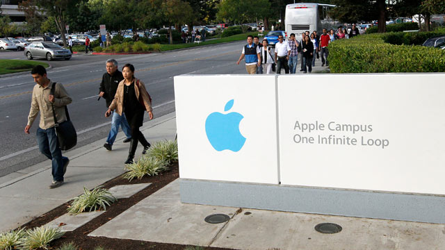 PHOTO: According to Apple, employee computers were hacked on Feb. 19, 2013.