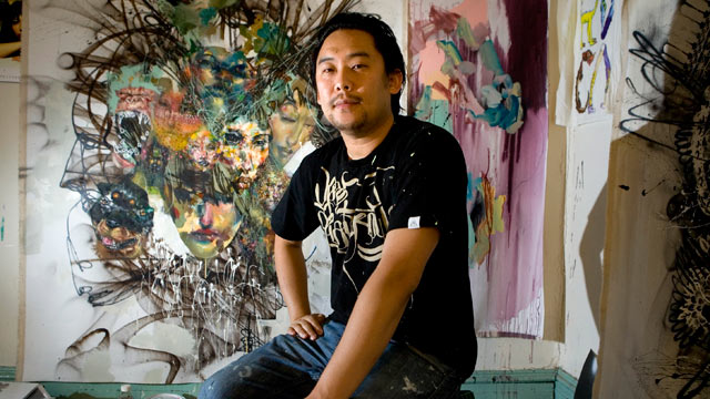 PHOTO: Artist David Choe, who painted murals at the headquarters of Facebook