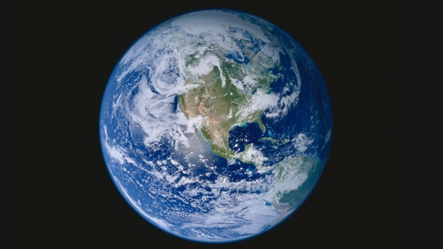 PHOTO: The planet Earth, with North America prominent, is seen here in this undated photo.