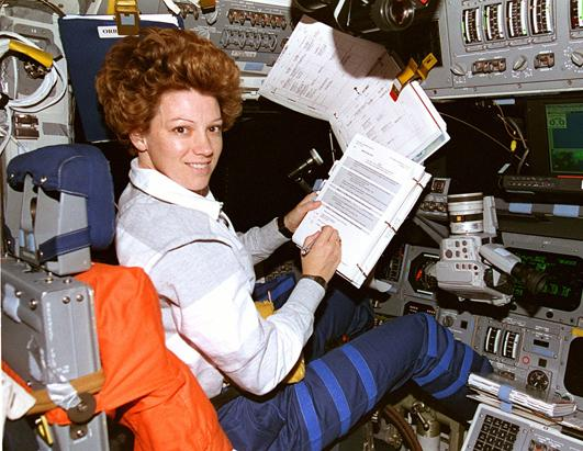 """women astronauts """"we don't have as big of a database of women [astronauts], so it's always a little harder to get statistical data, but we do see differences"""" in how men and women are affected by."""